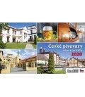 Table calendar České pivovary nejen na kole 2020