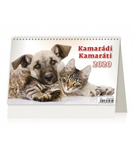 Table calendar Kamarádi/Kamaráti 2020