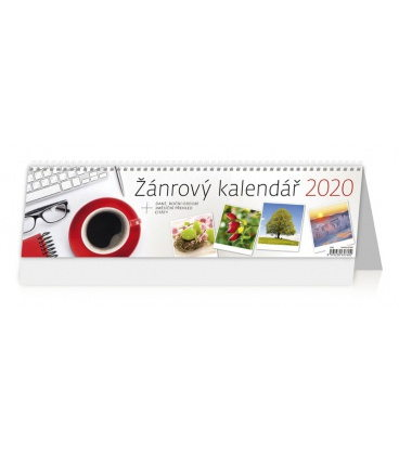 Table calendar Žánrový kalendář 2020