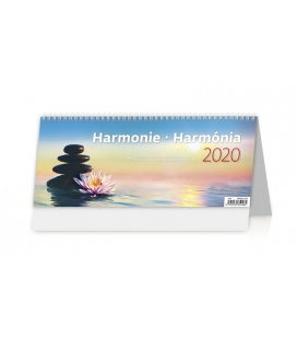 Table calendar Harmonie 2020