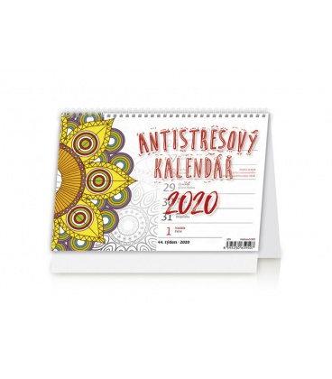 Table calendar Antistresový pracovní 2020