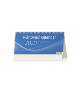 Table calendar Plánovací kalendář MODRÝ 2020