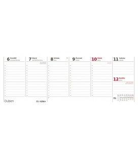 Table calendar Poznámkový kalendář OFFICE 2020