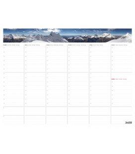 Table calendar SK - Týdenní plánovací mapa A2 (bez plastové lišty) 2020