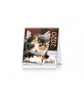 Table calendar Mini Kittens 2020