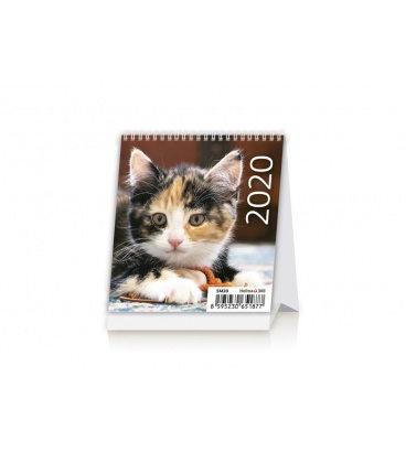 Table calendar Mini Kittens 2020