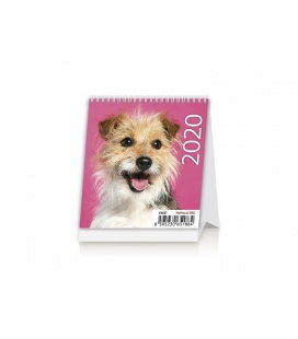 Table calendar Mini Puppies 2020