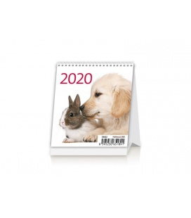 Table calendar Mini Pets 2020