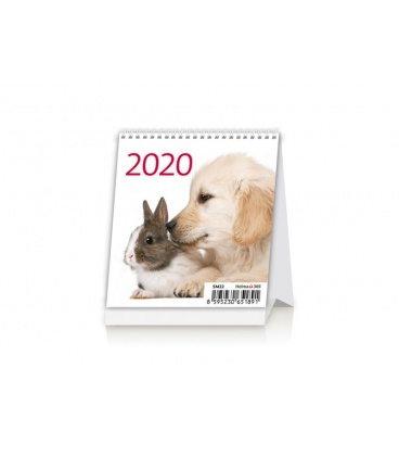 Table calendar Mini Pets 2020