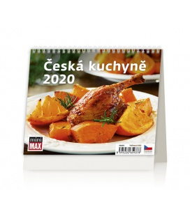 Table calendar MiniMax Česká kuchyně 2020