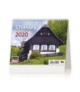 Table calendar Minimax Chalupy 2020
