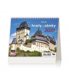 Table calendar MiniMax Naše hrady a zámky 2020