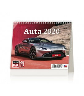 Table calendar MiniMax Auta 2020