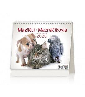 Table calendar Minimax Mazlíčci/Maznáčikovia 2020