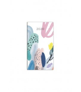 Pocket diary fortnightly - Napoli - design 5 2020