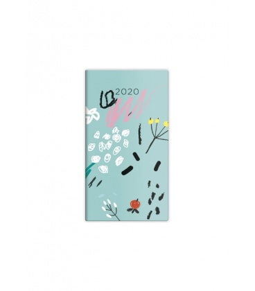 Pocket diary fortnightly - Napoli - design 6 2020