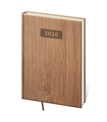 Daily Diary A5 Wood 2020