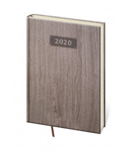 Weekly Diary A5 Wood 2020
