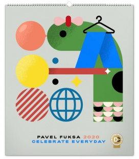 Wall calendar Pavel Fuksa 2020