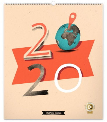 Wall calendar Dominik Miklušák 2020