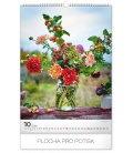 Wall calendar Bouquets 2020