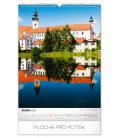 Wall calendar Castles and chateaux 2020