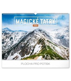 Wall calendar Magical Tatras 2020