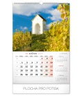 Wall calendar Chapels and churches 2020