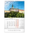 Wall calendar Historical places of Slovakia 2020