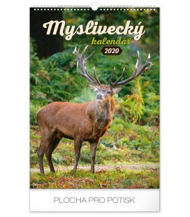 Wall calendar Hunting 2020