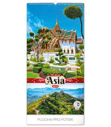 Wall calendar All about Asia 2020