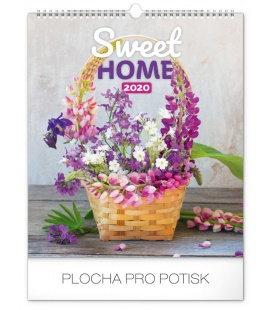 Wall calendar Sweet home 2020