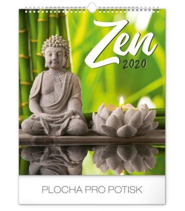 Wall calendar Zen 2020