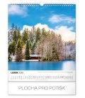 Wall calendar Wanders around Czech landscape 2020