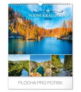 Wall calendar Water kingdom 2020