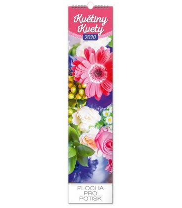Wall calendar Květiny – kvety 2020