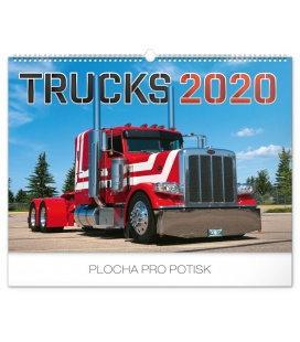 Wall calendar Trucks 2020