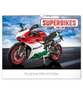 Wall calendar Superbikes 2020