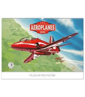 Wall calendar Aeroplanes – Jaroslav Velc 2020