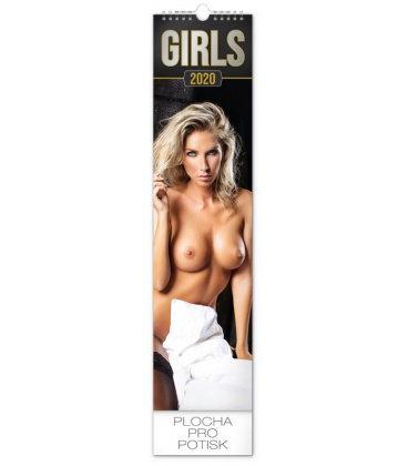 Wall calendar Girls 2020