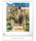 Wall calendar Claude Monet 2020