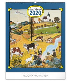 Wall calendar Josef Lada – Year in the village 2020