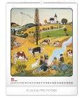 Wall calendar Josef Lada – Year in the village 2020