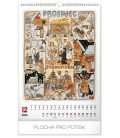Wall calendar Josef Lada – Months of the year 2020