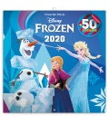 Wall calendar Frozen, DIY: 50 stickers 2020