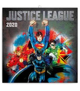 Wall calendar Justice League 2020