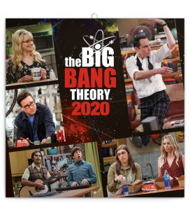 Wall calendar Bing bang Theory 2020