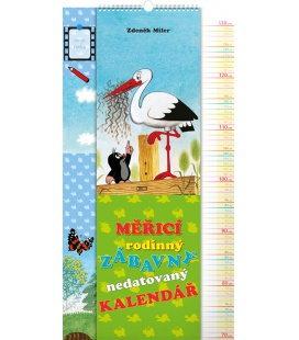 Wall calendar The Little Mole – height measurement calendar, undated 2020