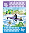 Wall calendar The Little Mole – wall sticker 2month calendar, undated 2020