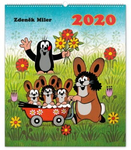 Wall calendar The Little Mole 2020